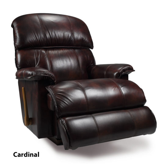 Grey Leather Electric Recliner Sofa